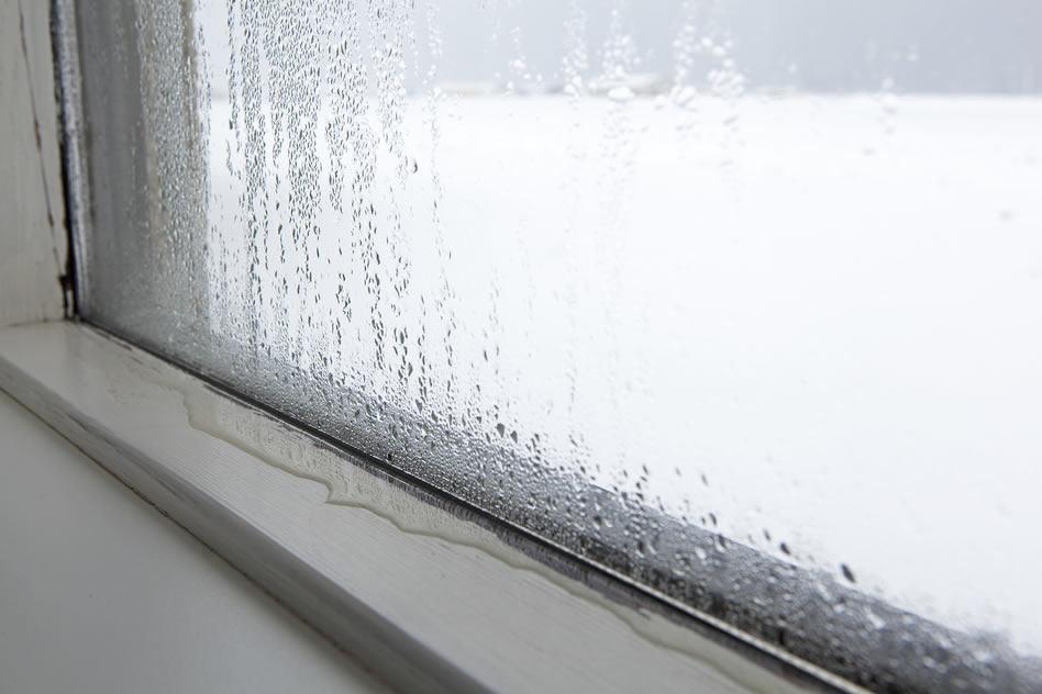Condensatie vocht