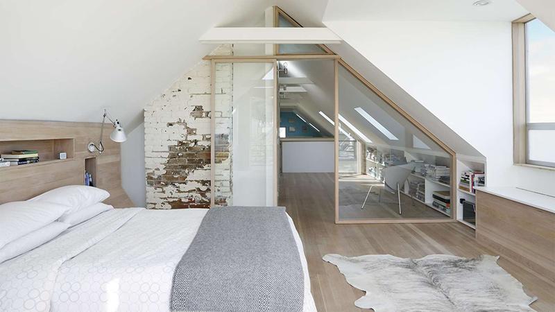 vochtige slaapkamer